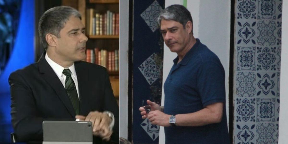 William Bonner é apresentador do Jornal Nacional (Foto: Reprodução/TV Globo/AgNews)