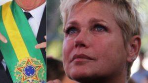 Xuxa entregou desespero com presidente (Foto: Anderson Borde/AgNews)