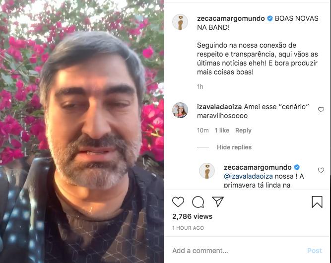 Zeca Camargo - (Reprodução/ Instagram)