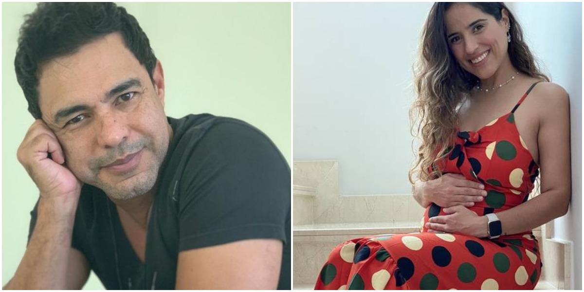 Zezé di Camargo é pai de Camilla Camargo, que está à espera do segundo filho (Reprodução)