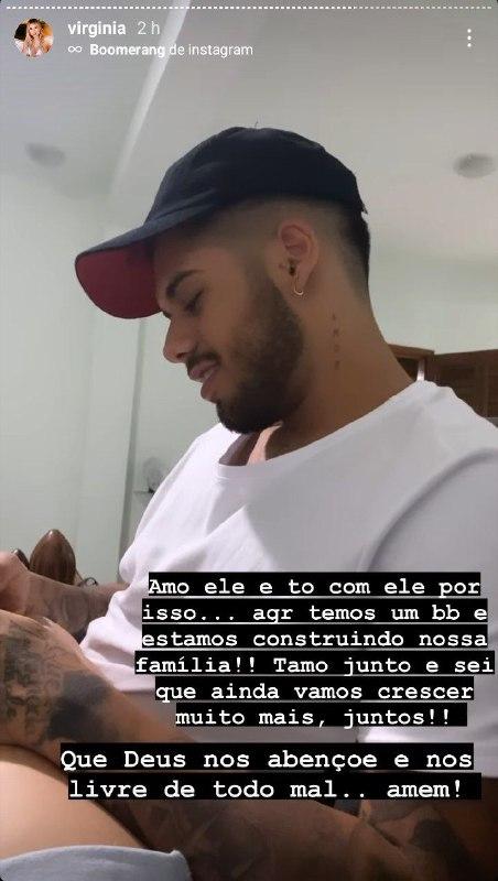 Virgínia e Zé Felipe esperam um filho e estão sendo criticados (Foto: Reprodução/ Instagram)