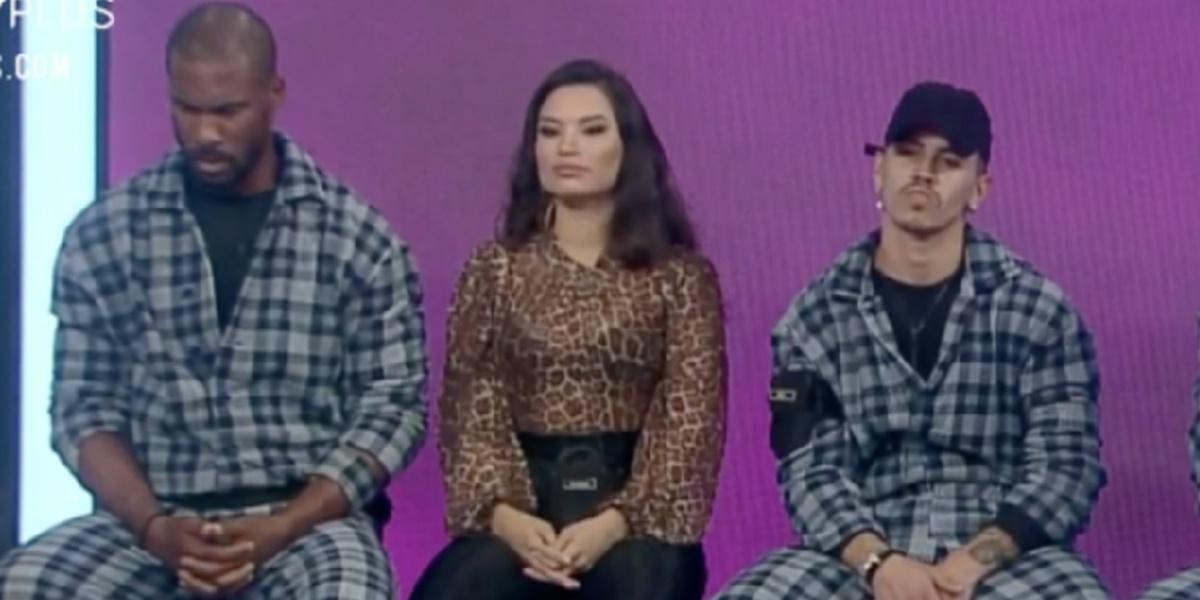 Rodrigo Moraes, Raissa Barbosa e Biel estão na Roça (Foto: Reprodução)