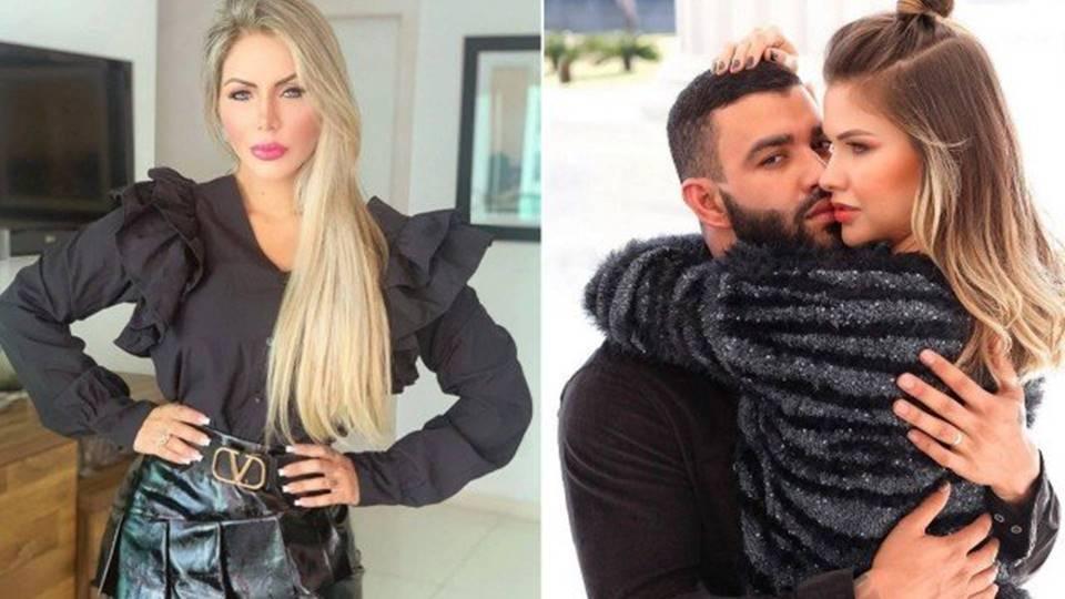 Influenciadora diz que foi proibida de entrar no camarim de Gusttavo Lima - Reprodução/Instagram