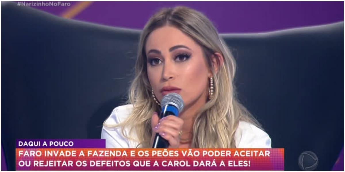 Carol Narizinho detonou Lucas - Foto