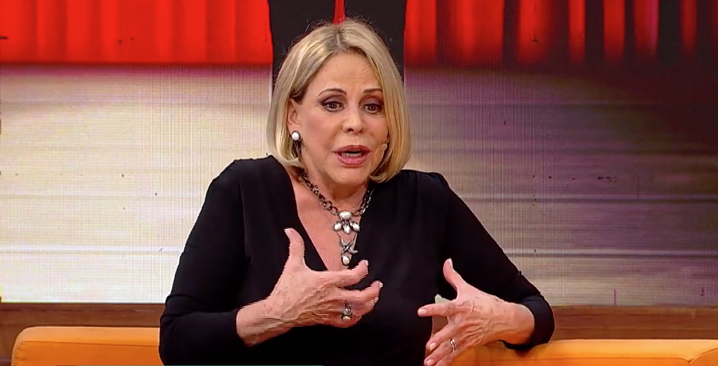 Claudete Troiano abriu o jogo e falou sobre a relação com Catia Fonseca (Foto reprodução: RedeTV)