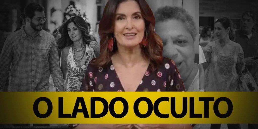 O lado oculto de Fátima Bernardes da Globo (Foto montagem: TV Foco)