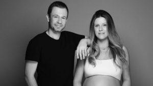 Daiana Garbin, atual esposa de Tiago Leifert fala sobre primeira filha do casal (Foto: Reprodução/Instagram)