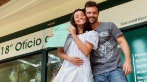 Ex-Malhação, Talita Younan, se casa com João Gomez, filho de Regina Duarte (Foto: Reprodução/Instagram)