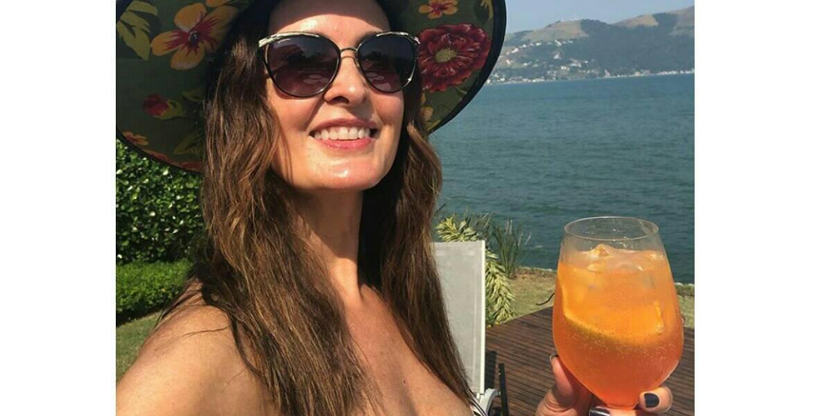 Fátima Bernardes chama atenção nas redes sociais (Foto: Reprodução)