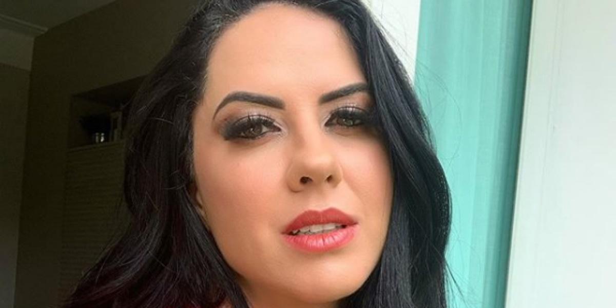 Graciele Lacerda, atual esposa de Zezé, poderá acabar indo parar na Globo e contratação já gera bastante polêmica (Foto reprodução)