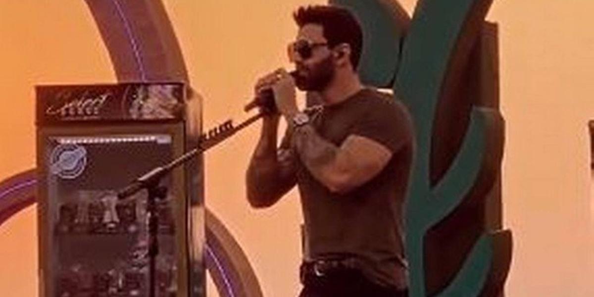 Gusttavo Lima em sua live após separação de Andressa Suita (Foto: Reprodução)