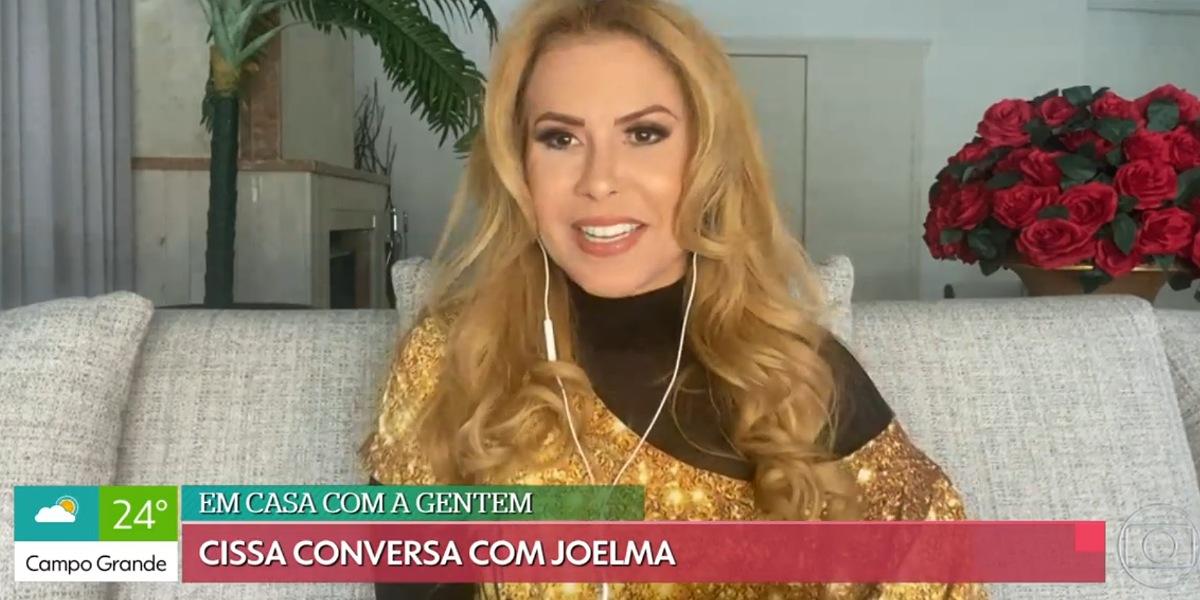 """Joelma faz revelação no """"É de Casa"""" e surpreende apresentadora (Foto: Reprodução/Gshow)"""