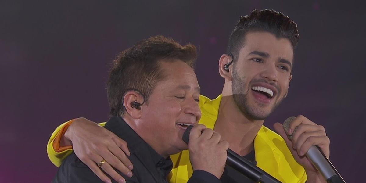 Gusttavo Lima e Leonardo farão live juntos (Foto: Reprodução / YouTube)