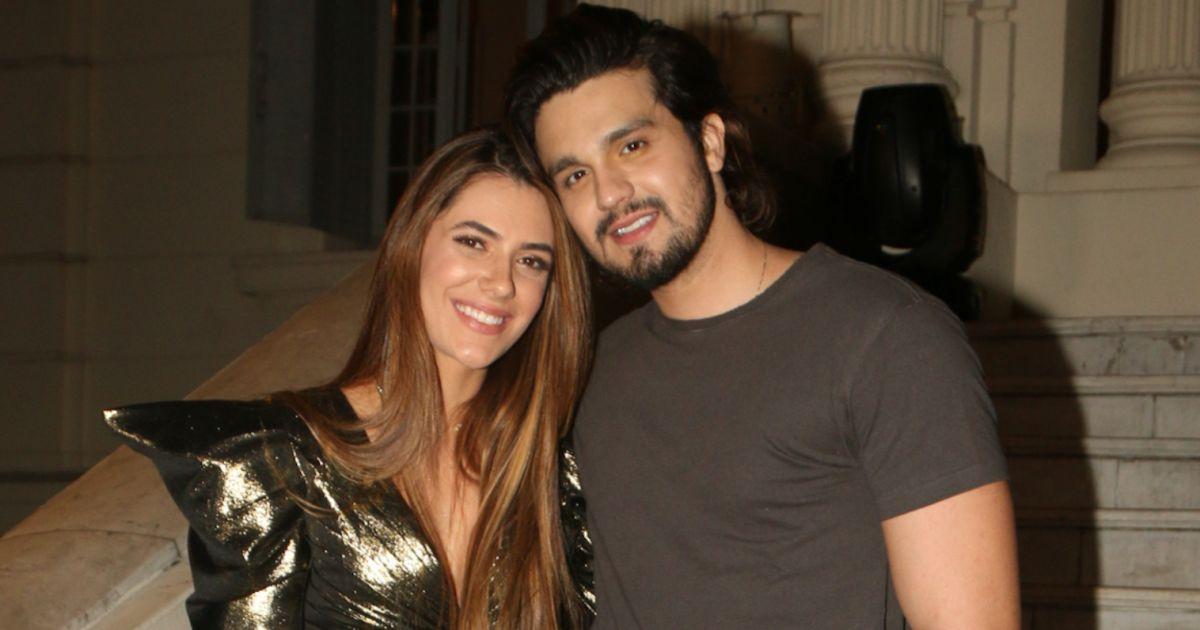 Jade Magalhães e Luan Santana (Foto: Reprodução)