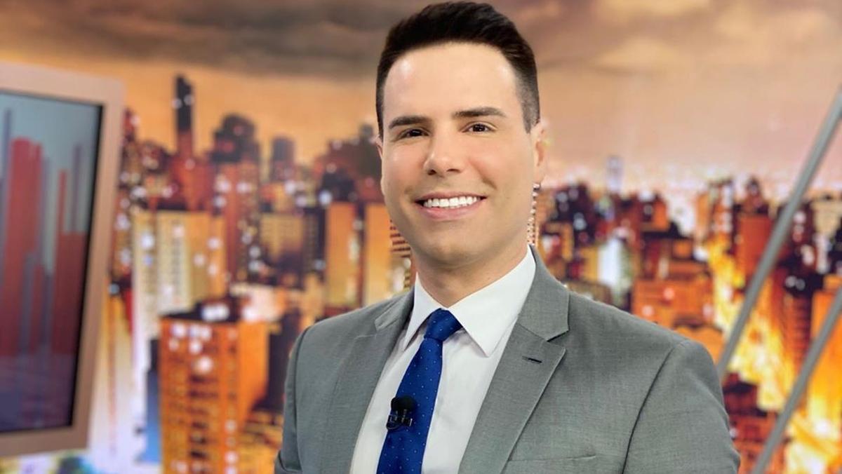 Luiz Bacci, do Cidade Alerta da Record (Foto reprodução)