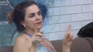 Luiza Ambiel acusou proodução de A Fazenda 12 de estar protegendo participante (Foto: Reprodução)