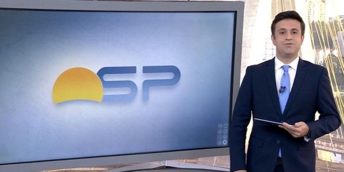 Bom Dia SP: Marcelo Poli é a nova grande aposta da TV Globo (Foto: Reprodução)