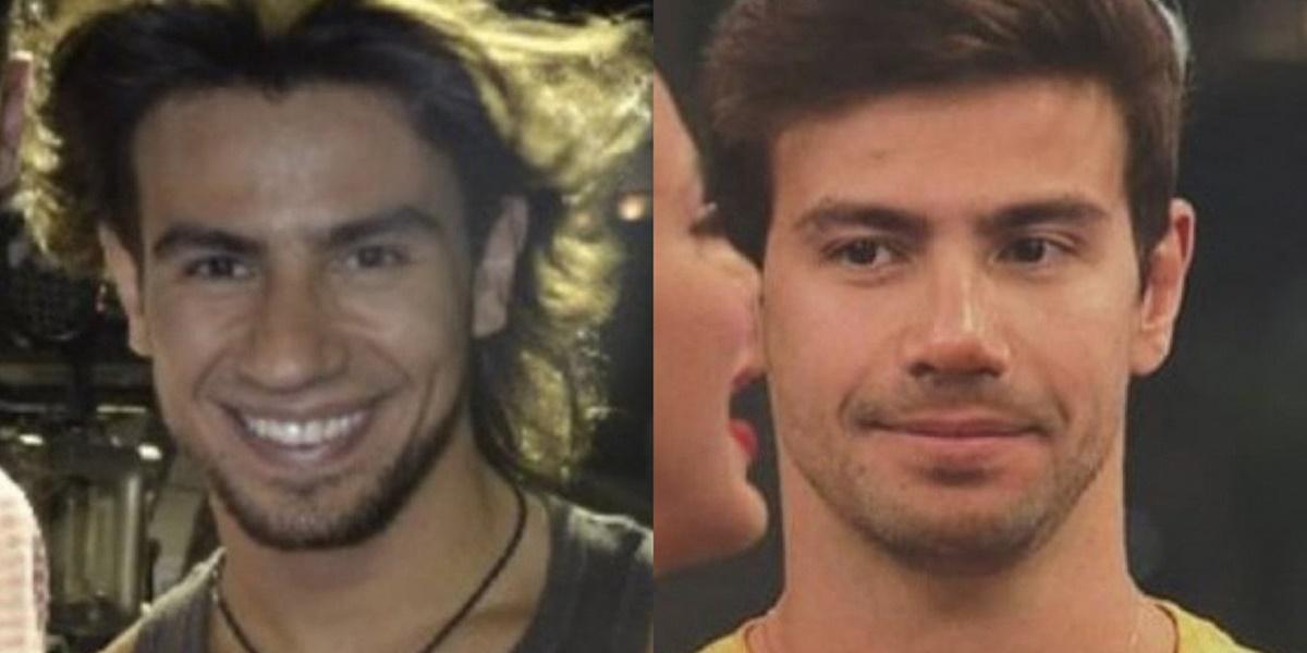 A Fazenda 12: Mariano antes e depois (Foto: Reprodução)