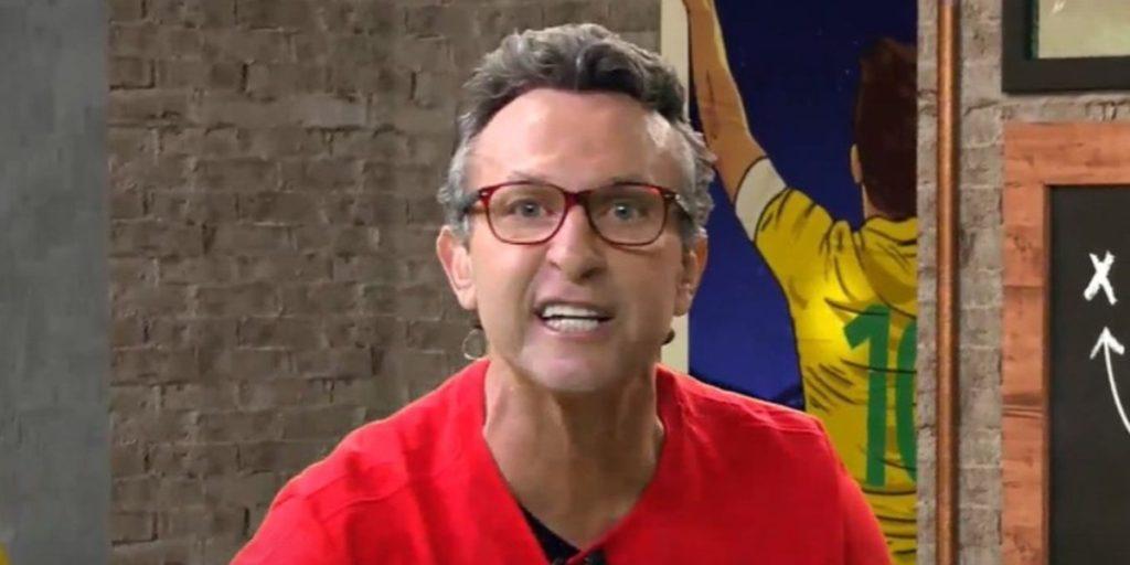 Neto se revolta com atitude de jogador do São Paulo(Foto: Reprodução)
