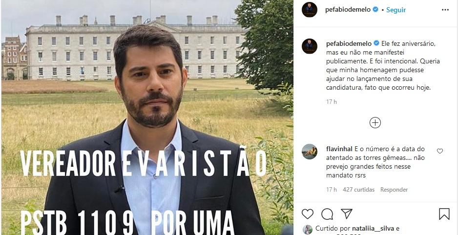 Publicação de Padre Fábio de Melo (Foto: Reprodução)