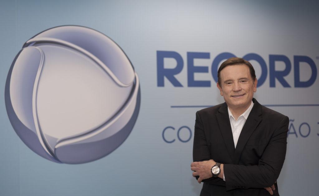 Record anuncia contratação de Roberto Cabrini (Foto: Antonio Chahestian / Divulgação Record TV)