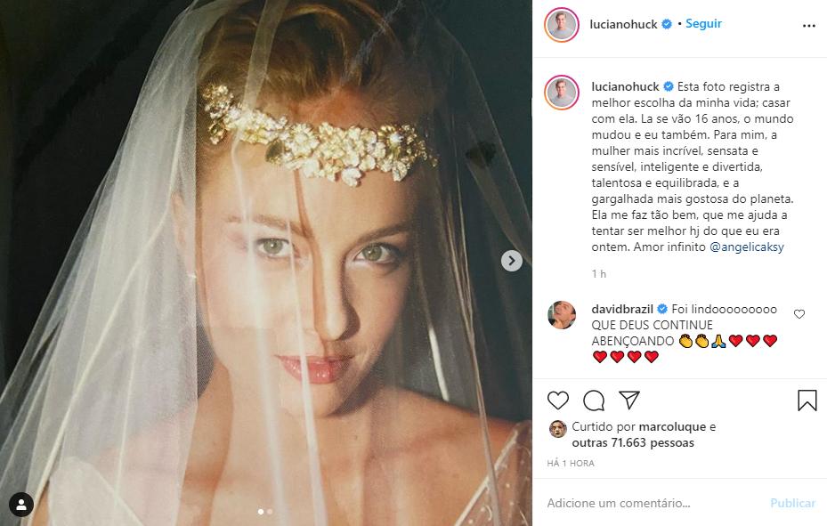 Casados á 16 anos (Reprodução/Instagram)