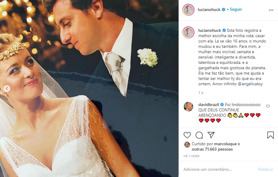 Dia do casamento (Reprodução/Instagram)