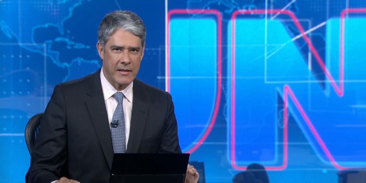 William Bonner é âncora e editor-chefe do Jornal Nacional (Foto: Reprodução / TV Globo)