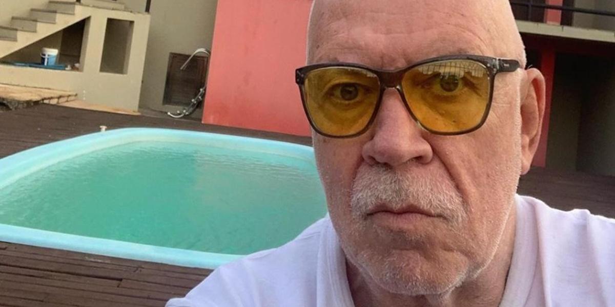 Xicão Tofani segue internado, entubado em hospital (Foto: Reprodução)