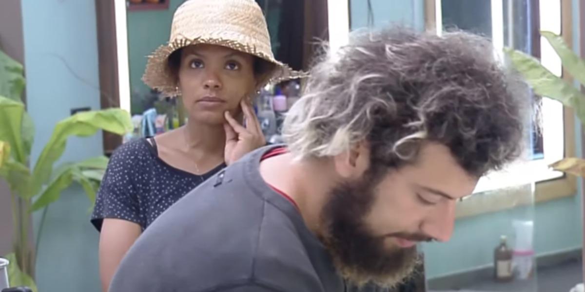 Cartolouco em papo com Lidi Lisboa (Foto: Reprodução)