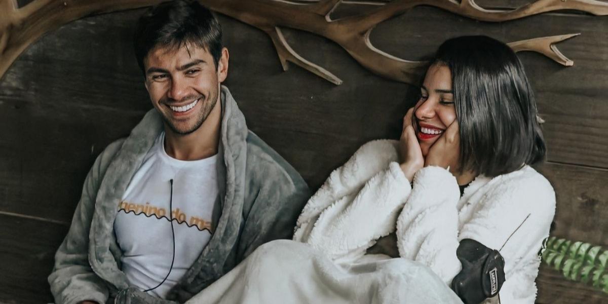 Mariano comenta futuro com Jakelyne Oliveira fora de A Fazenda 12 (Foto: Reprodução)