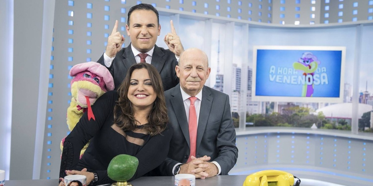 A Hora da Venenosa é sucesso de audiência (Foto: Divulgação/Record)