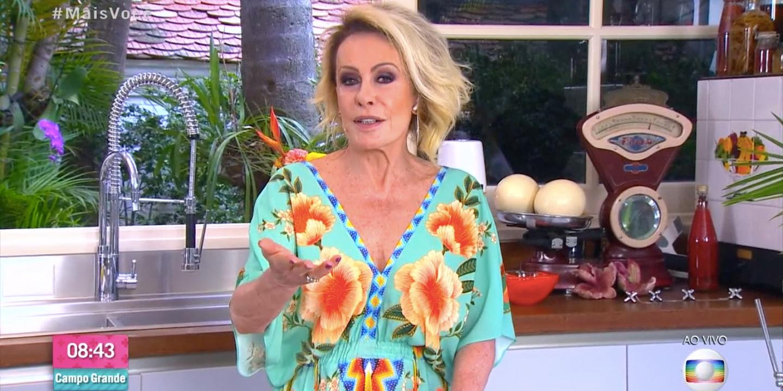Ana Maria Braga comunicou sobre o sumiço de Louro José (Foto: reprodução/Globo)
