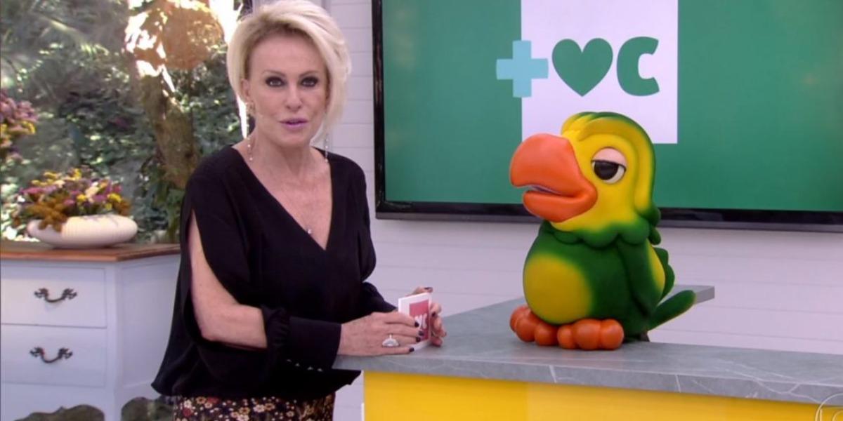"""Ana Maria Braga e Louro José no """"Mais Você"""" (Foto: Reprodução/TV Globo)"""