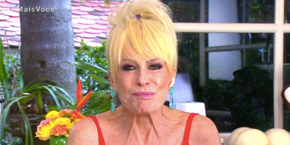 Ana Maria Braga no retorno do 'Mais Você' (Foto: reprodução/Globo)