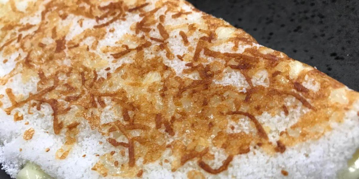 Ana Maria Braga prepara uma tapioca rendada no Mais Você de hoje (Foto: Reprodução)