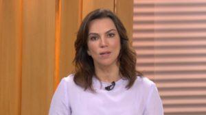"Ana Paula Aráujo no ""Bom Dia Brasil"" (Foto: Reprodução/TV Globo)"
