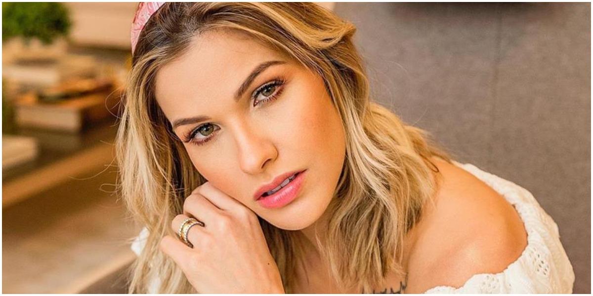 Andressa Suita era famosa muito antes de se casar com Gusttavo Lima (Foto: Reprodução)