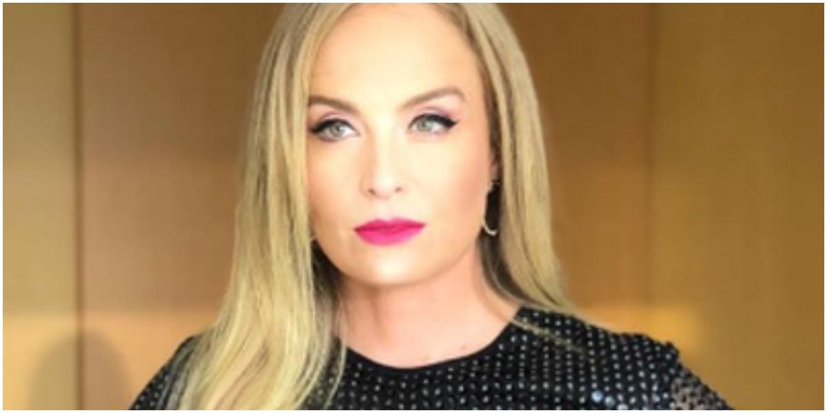 A apresentadora Angélica quebrou o silêncio - Foto: Reprodução