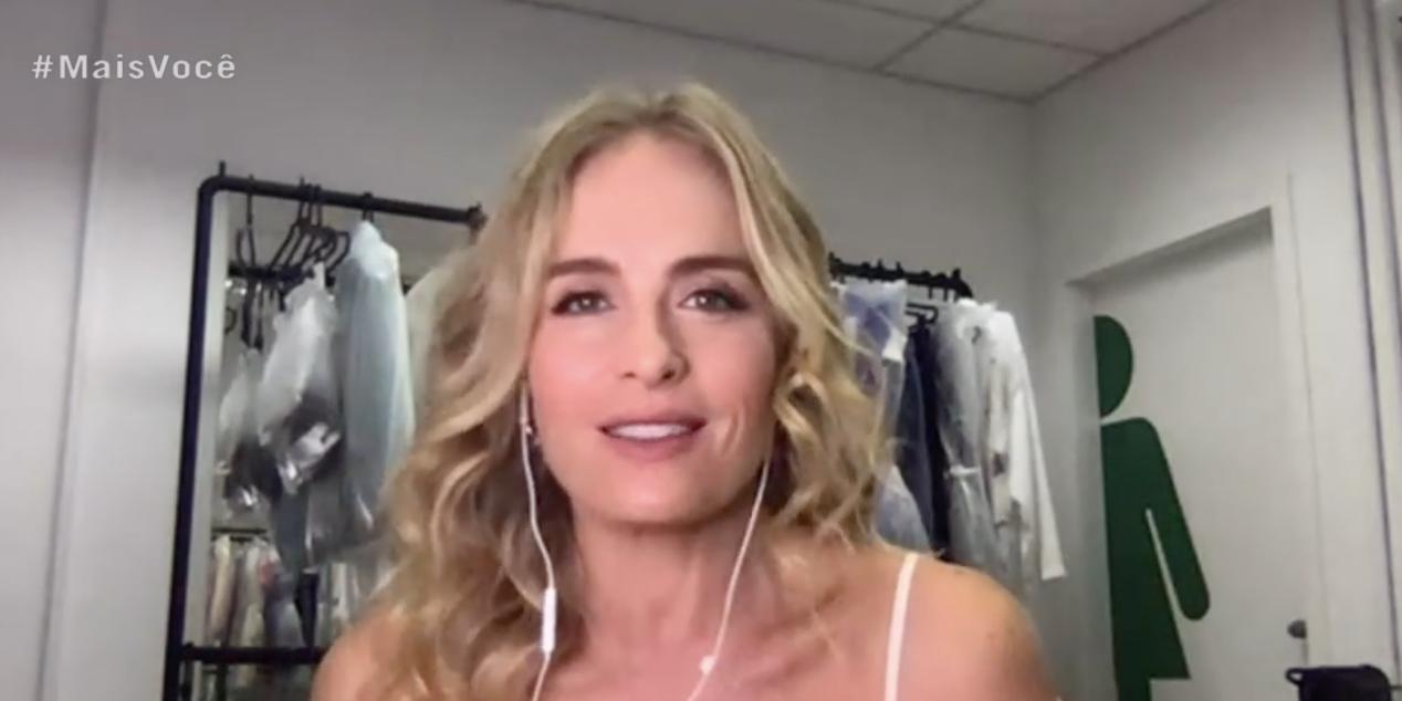 Angélica cedeu uma entrevista para Ana Maria (Foto: reprodução/Globo)