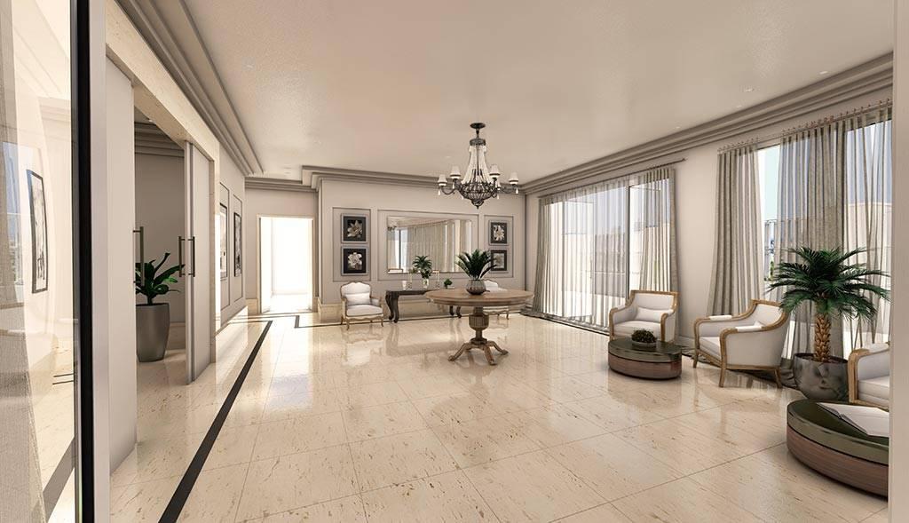 Novo apartamento luxuoso de artista (Divulgação)