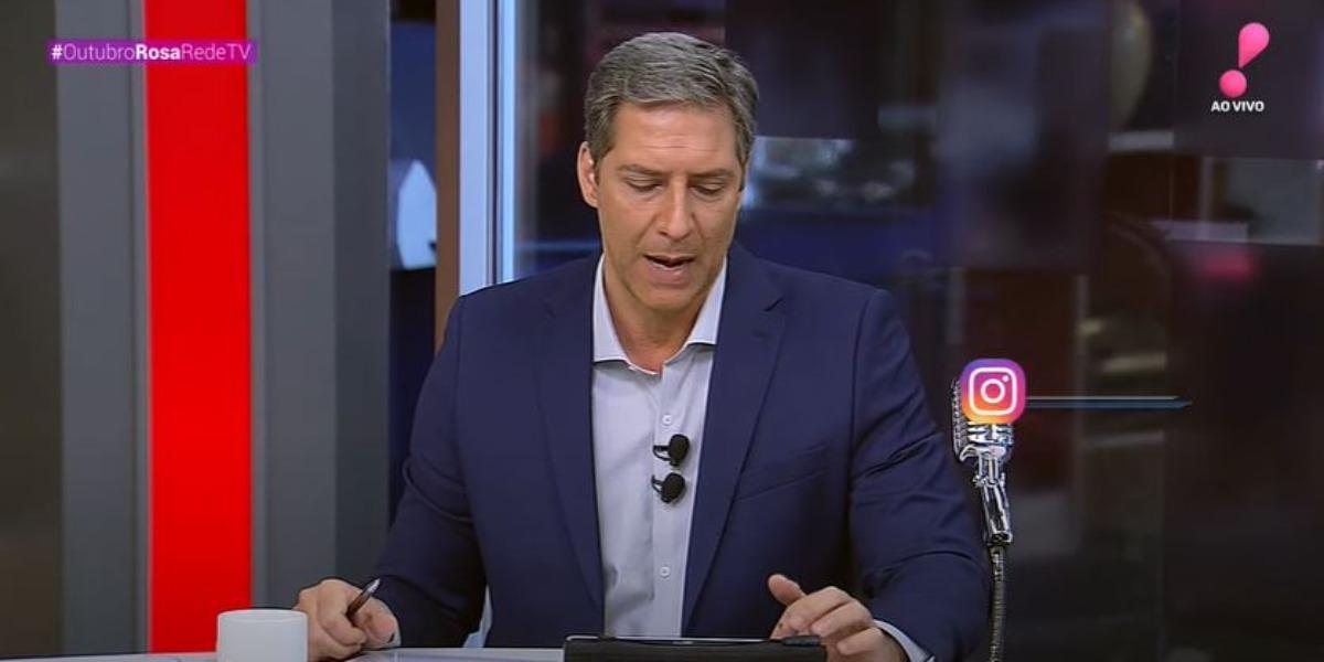 Lacombe foi destaque na audiência de hoje (Foto: Reprodução/RedeTV!)