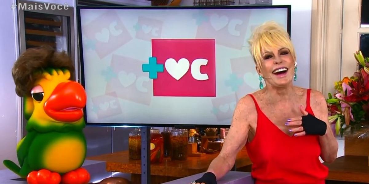 Ana Maria Braga foi destaque de audiência (Foto: Reprodução/TV Globo)