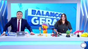 Balanço Geral SP foi destaque de audiência (Foto: Reprodução/Record)