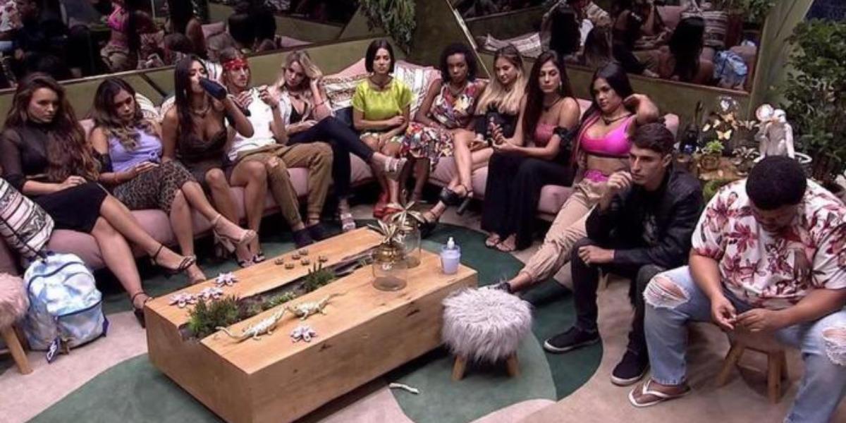 """BBB 20"" teve famosos (Foto: Reprodução/TV Globo)"