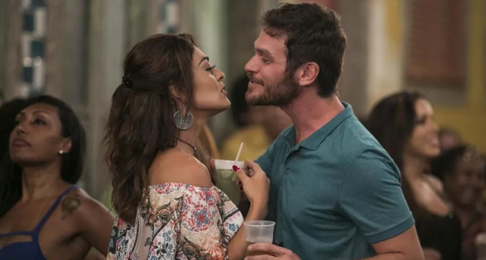 Bibi e Rubinho — Foto: TV Globo A Força do Querer