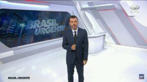 Lucas Martins substituiu Datena no Brasil Urgente (Foto: Divulgação)