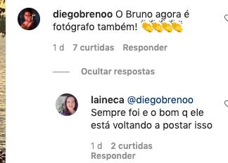 Fãs de Bruno falam sobre atual momento do cantor (Foto: Reprodução/ Instagram)