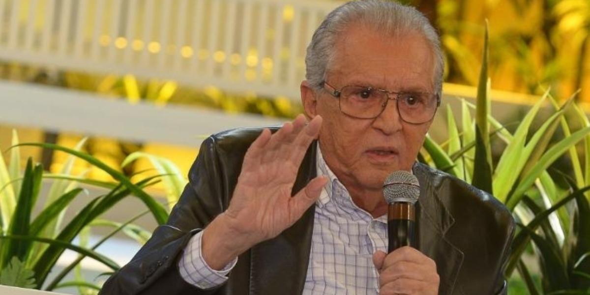 Carlos Alberto de Nóbrega falou de sua demissão do SBT (Foto: Reprodução/SBT)