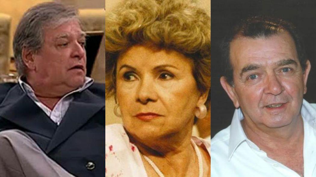 Carlos Eduardo Dolabella, Eloísa Mafalda e Umberto Magnani; atores de Por Amor (Reprodução/Divulgação/TV Globo)